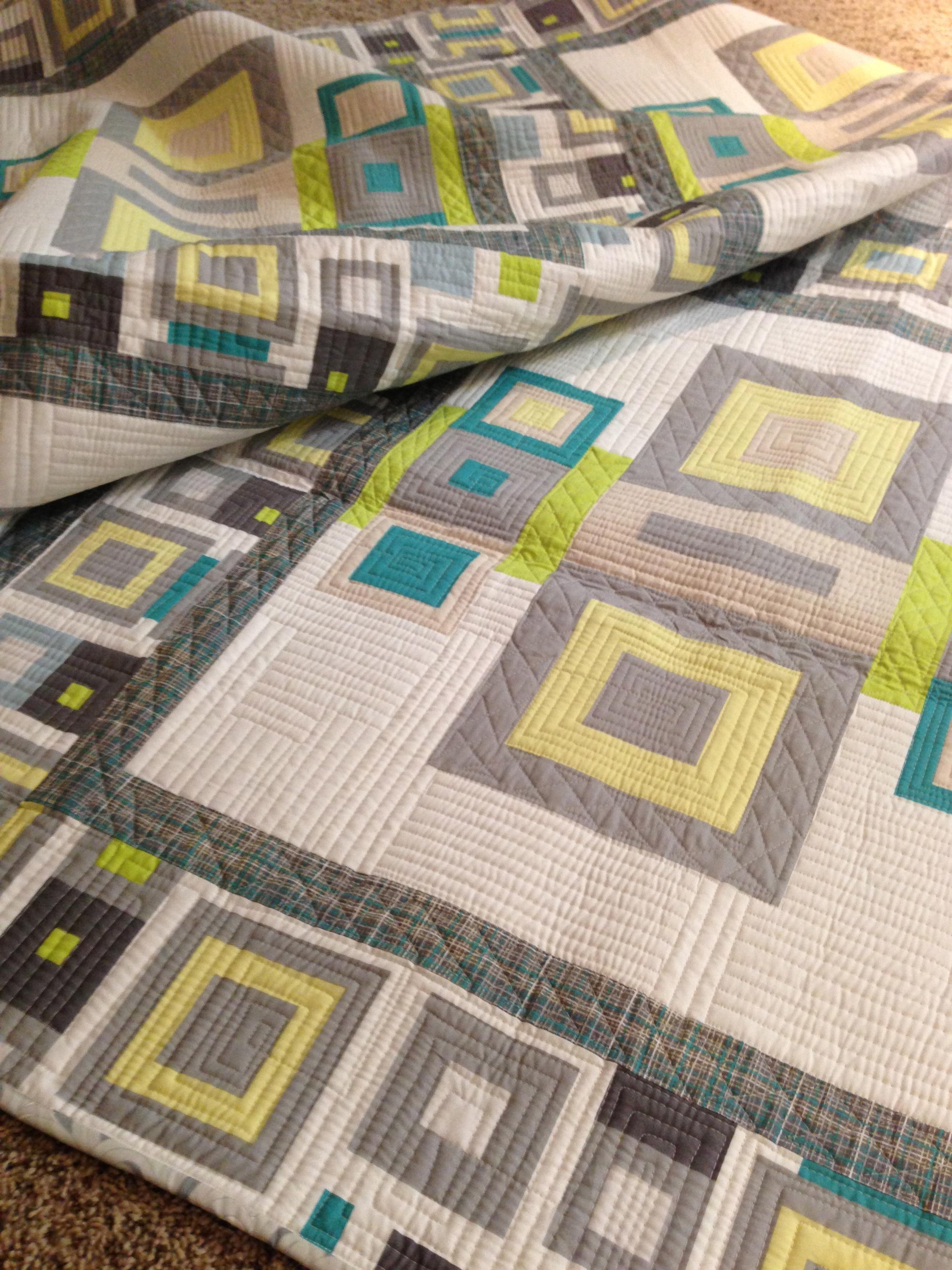 textured frames free quilt pattern