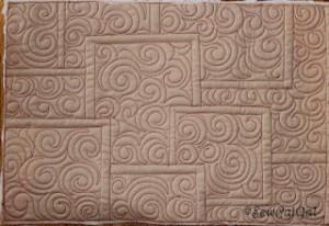 tiles quilting design