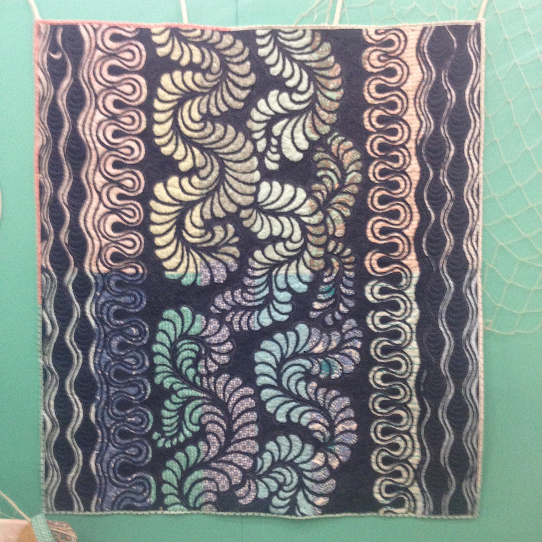 reverse applique quilt