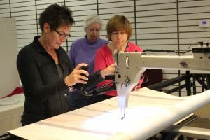 machine quilting classes