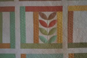 organic elements quilt