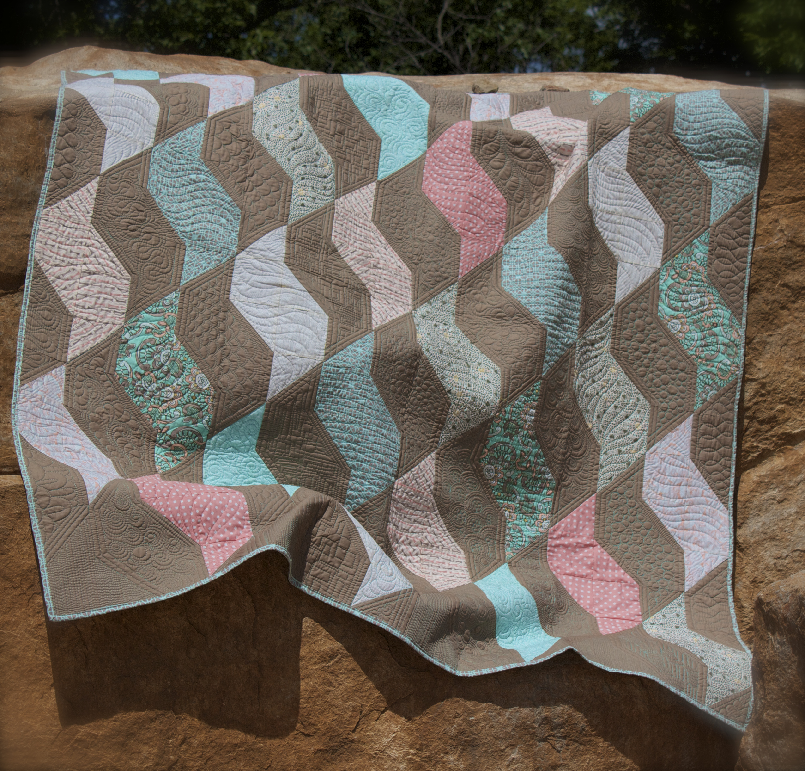 coral quilt free pattern