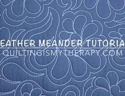 The Feather Meander Video Tutorial