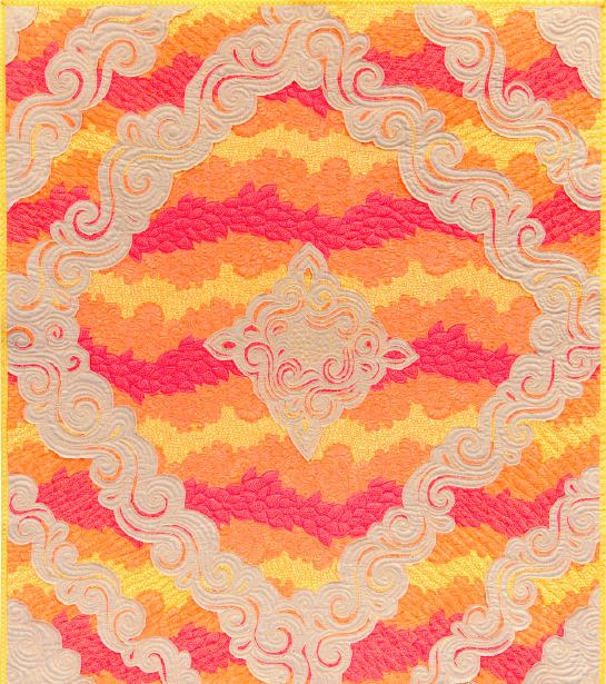free quilt pattern reverse appliqué