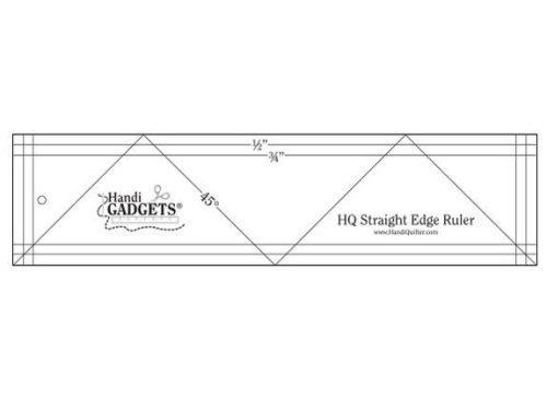 "HQ Straight Edge Ruler 3"" x 12"""