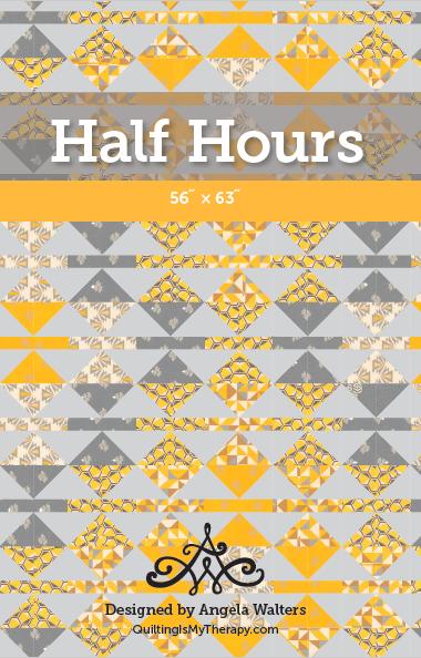 Half Hours Quilt Pattern