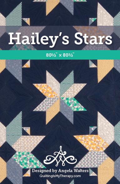 Hailey's Stars Quilt Pattern