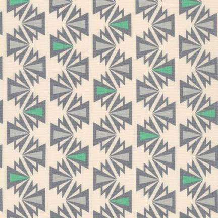 1/2 yard Fragmental Triangle Stripe Park