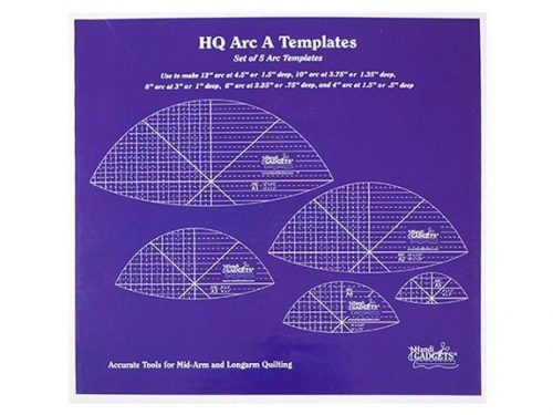 Handi Quilter Ruler Set Arc A