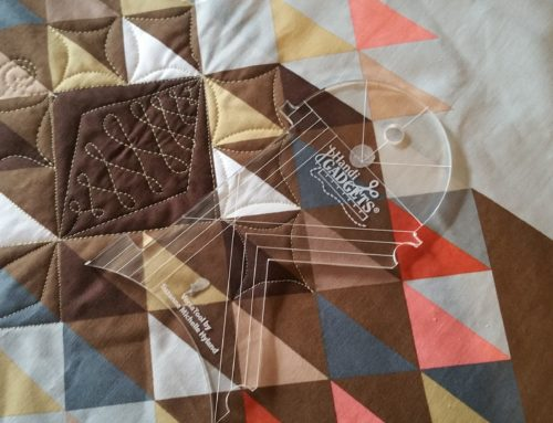 Machine Quilting with Rulers – A video tutorial