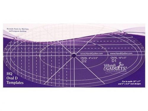 HQ Ruler Set Oval D