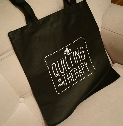 Quilting Is My Therapy Bag
