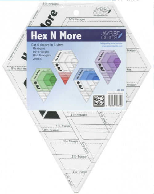Hex N More Ruler by Julie Herman Pattern