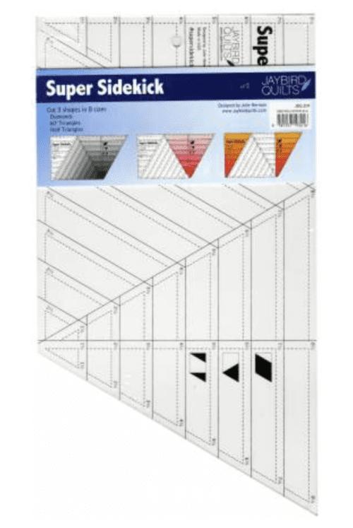 Super Sidekick Ruler (pattern)