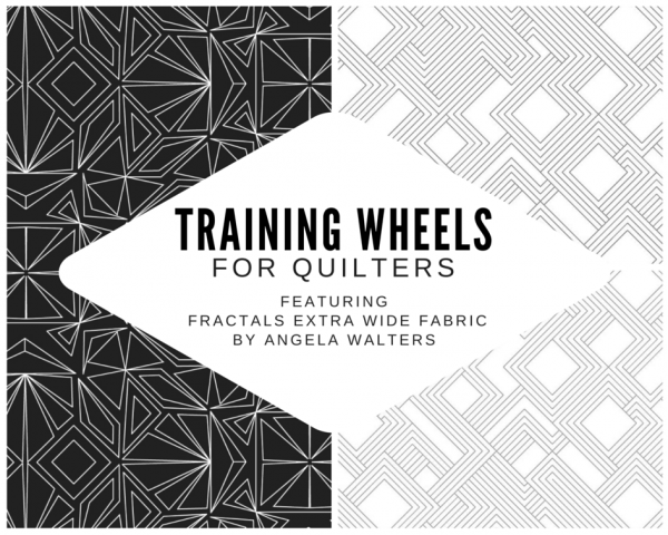 Training Wheels for Quilters Kit -Dot to Dot Quilting