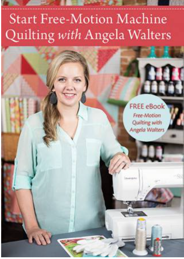 DVD Start Free-motion Quilting with Angela Walters