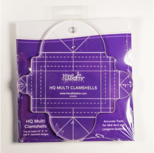 HQ Multi Clamshells Ruler