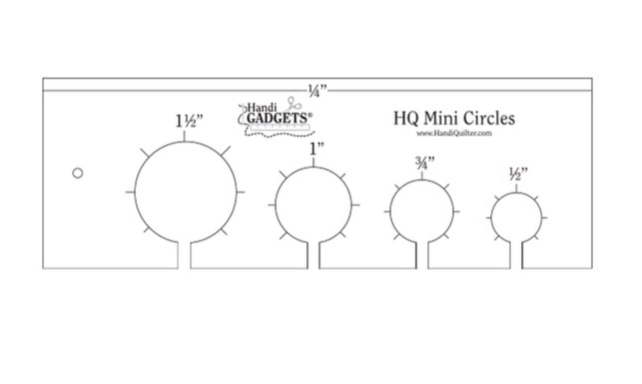 HQ Mini Circles Ruler