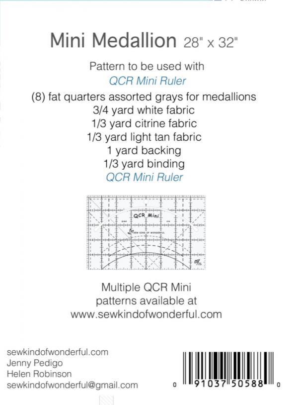 Mini Medallion Quilt Pattern