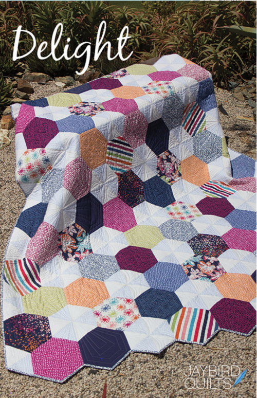 Delight Quilt Pattern by Jaybird Quilts