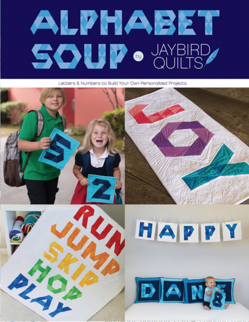 Alphabet Soup Quilt Pattern Book