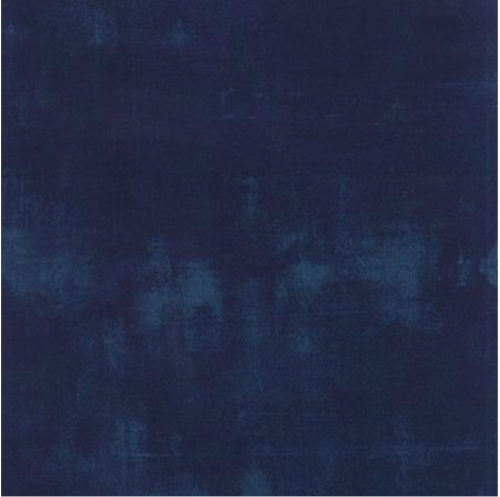 1/2 Yard Navy Grunge by Moda