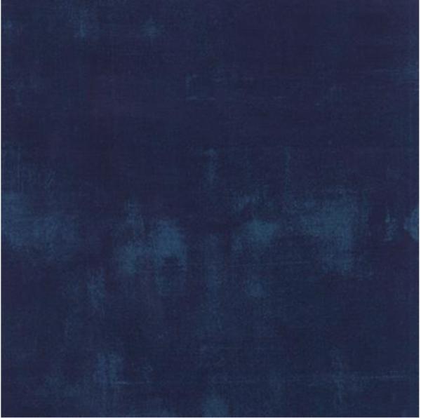 1/2 Yard Navy Grunge by Moda