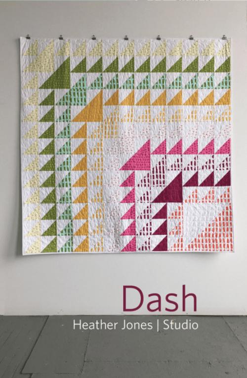 Dash Quilt Pattern by Heather Jones