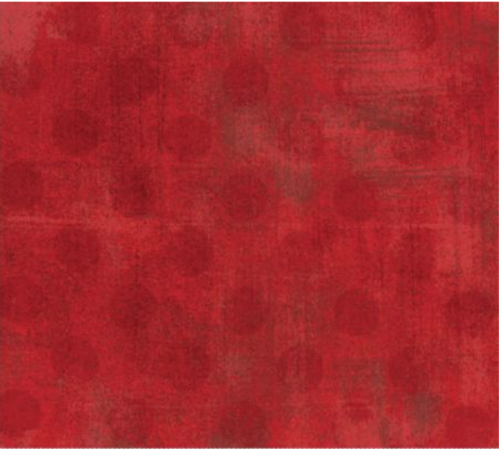 Grunge Hits the Spot Red 1/2 yd