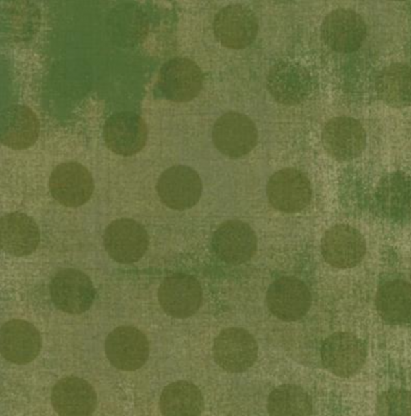 Grunge Hits the Spot Vert Green 1/2 yd