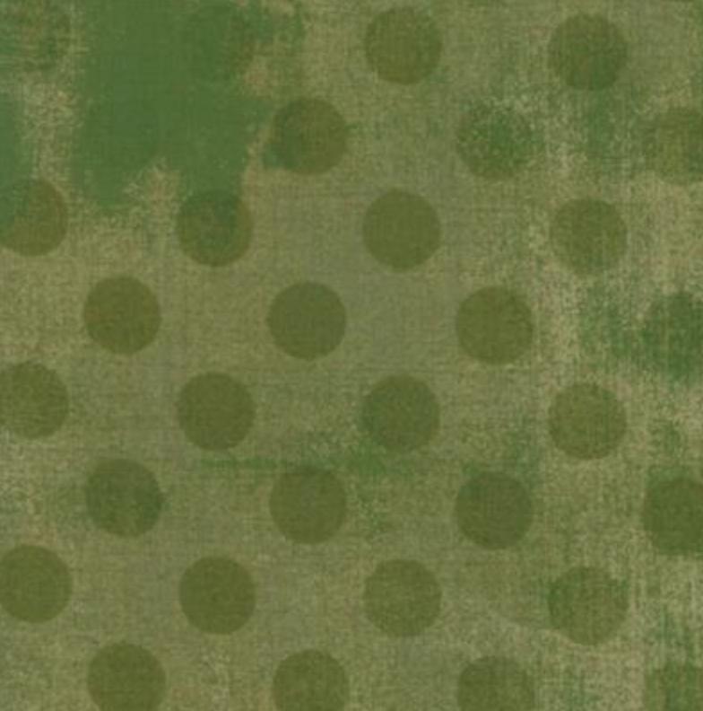Grunge Hits the Spot Vert Green 1/2 yd
