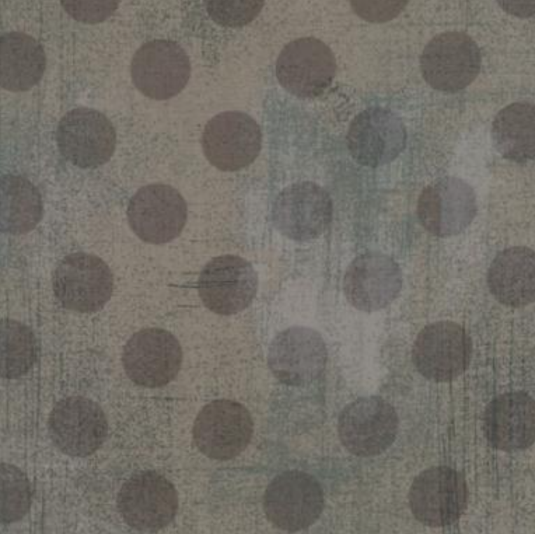 Grunge Hits the Spot Couture Grey 1/2 yd