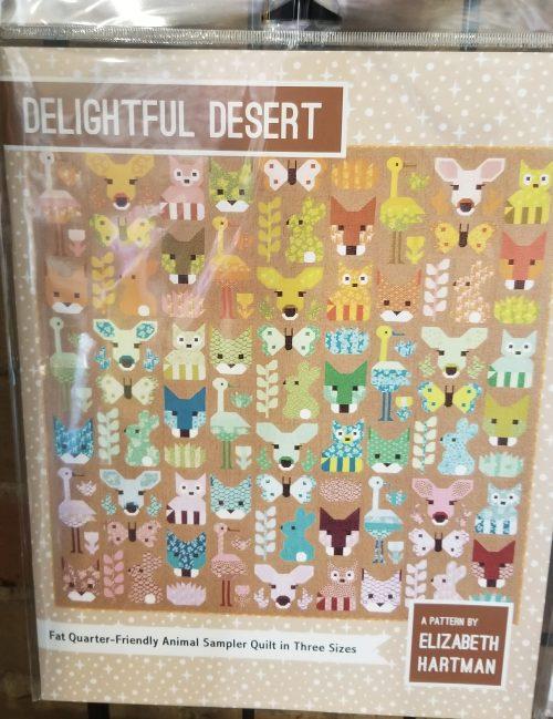Delightful Desert Quilt Pattern By Elizabeth Hartman