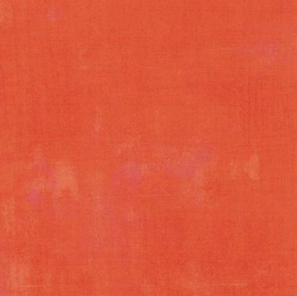 Tangerine Grunge 1/2 Yard