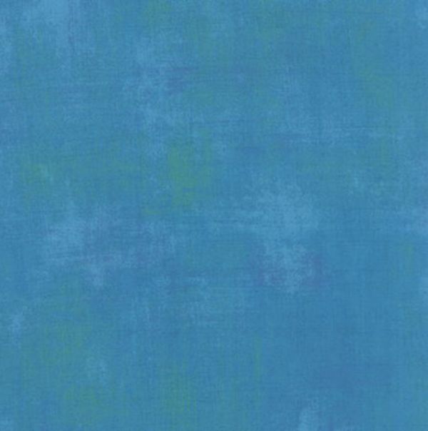 Turquoise Grunge 1/2 Yard