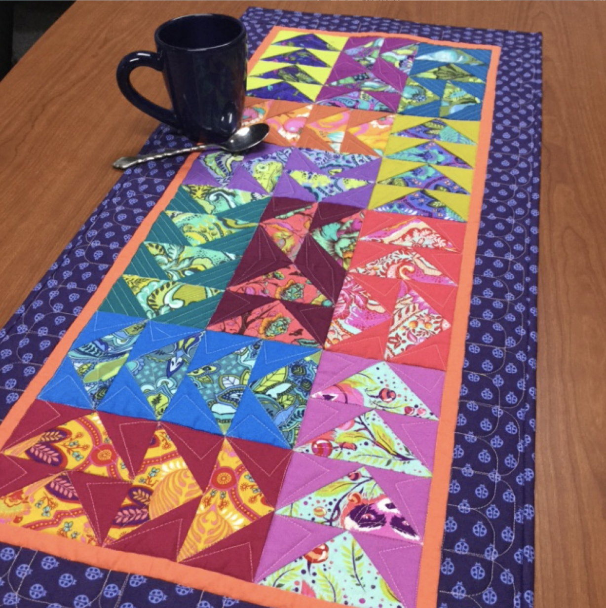 Wild and Free Quilt Pattern from Cut Loose Press