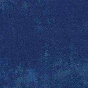 Midnight Garden - Cobalt Grunge 1/2 yard