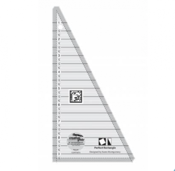 Perfect Rectangle Ruler by Creative Grids (For the Quilting Along Pattern)
