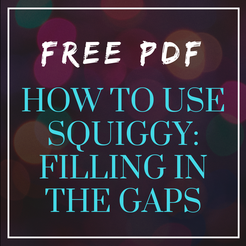 Free PDF: How To Fill in Gaps with the Squiggy Ruler
