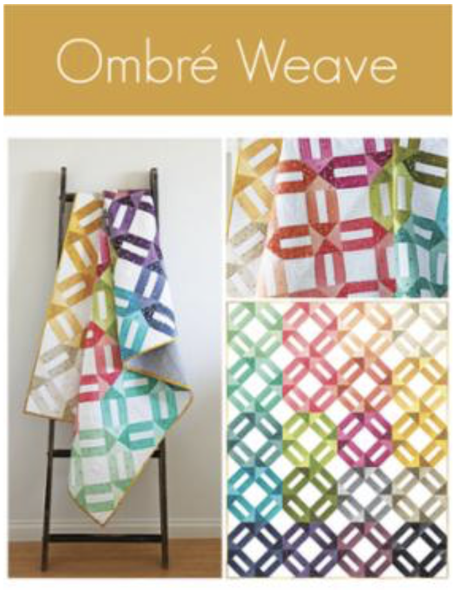 Ombre Weave Quilt Pattern