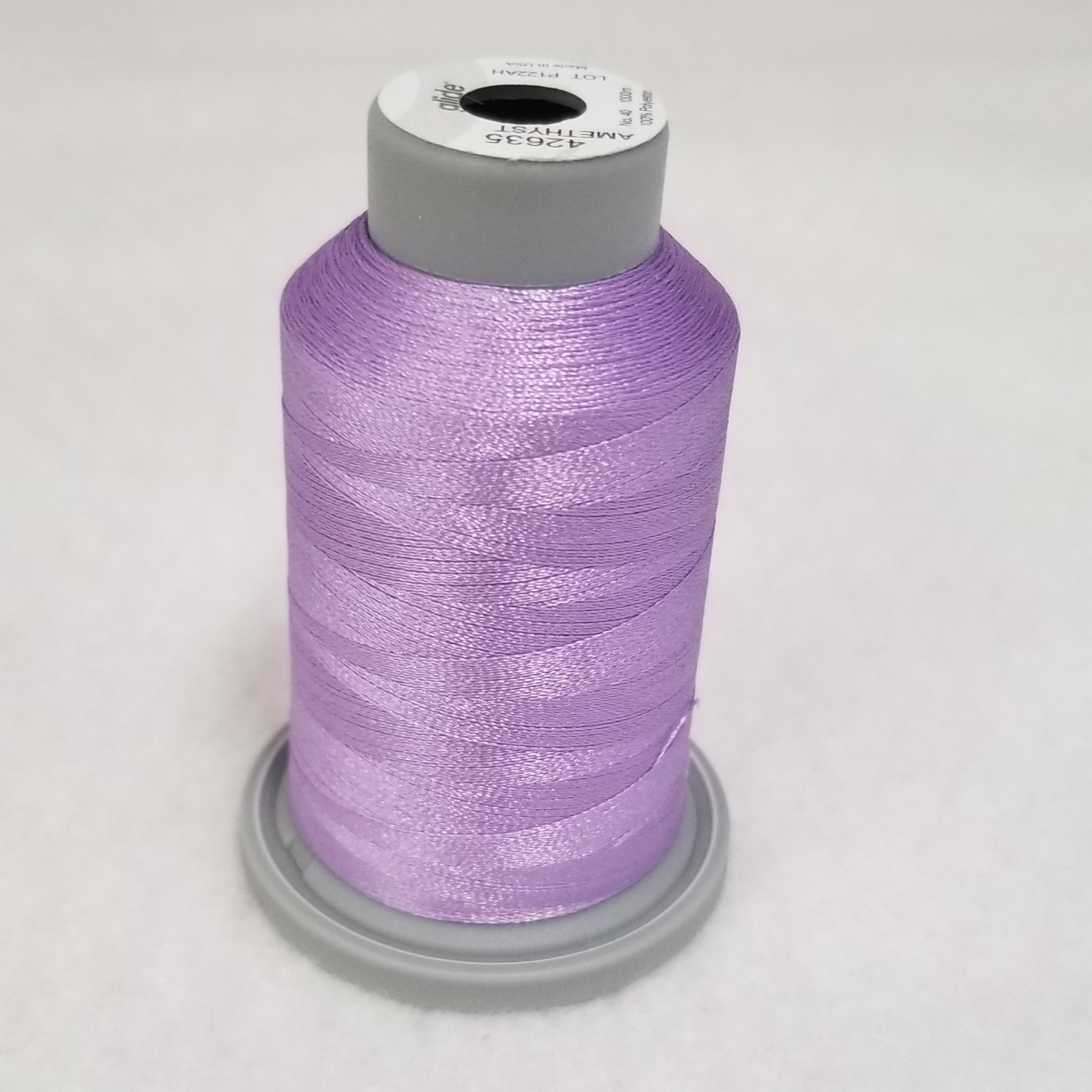 Amethyst Purple Glide Thread Spool