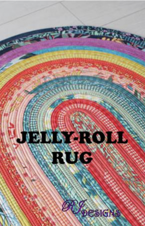 Jelly Roll Rug Quilt Pattern