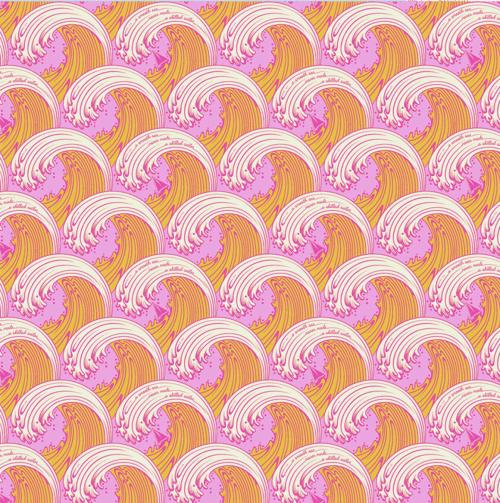 Zuma by Tula Pink Glowfish Whitecaps