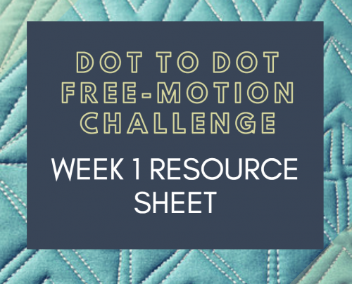 Dot to Dot Free-motion Challenge Week 1 Expanded Resource PDF