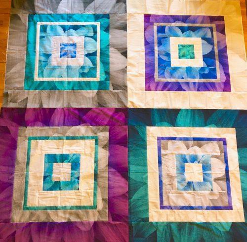 Four by Four Dream Big Panel Quilt Kit