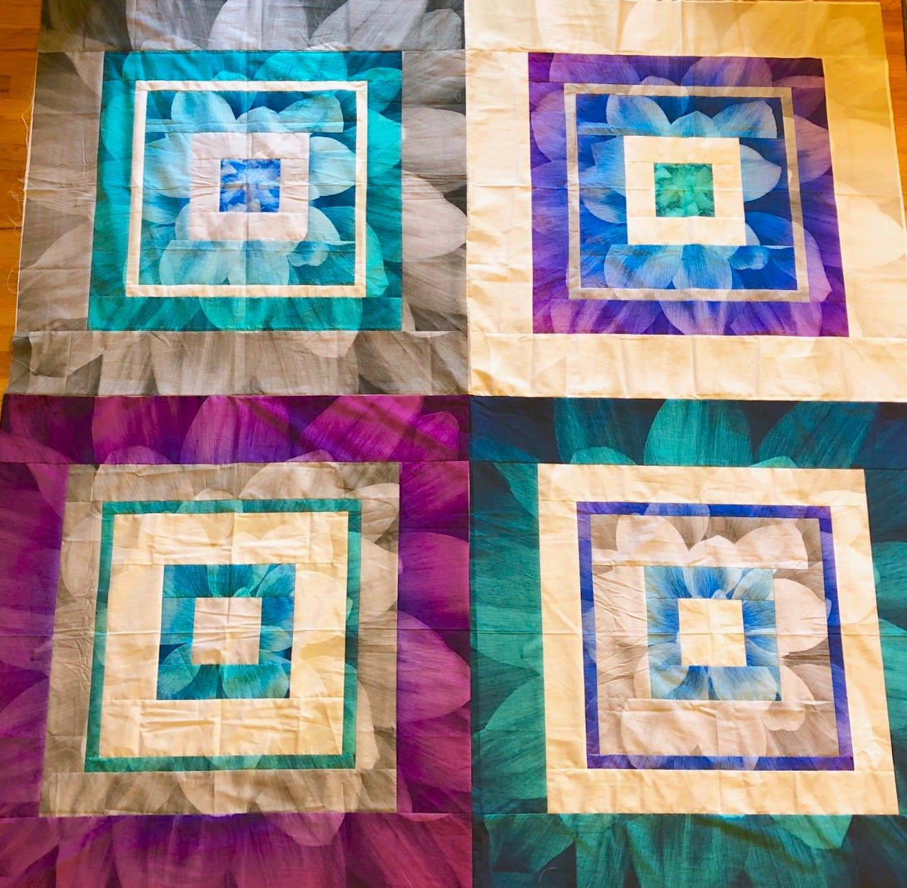 Four by Four Dream Big Panel Quilt Kit