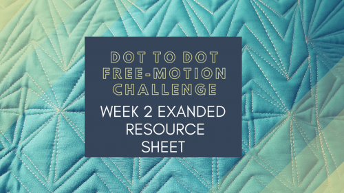 Dot to Dot Free-motion Challenge Week 2 Expanded Resource PDF