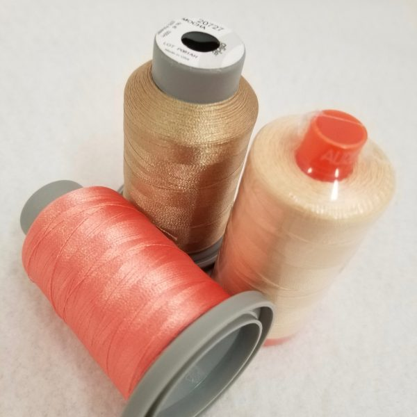Build A Quilt Coral Flare Coordinating Thread Collection