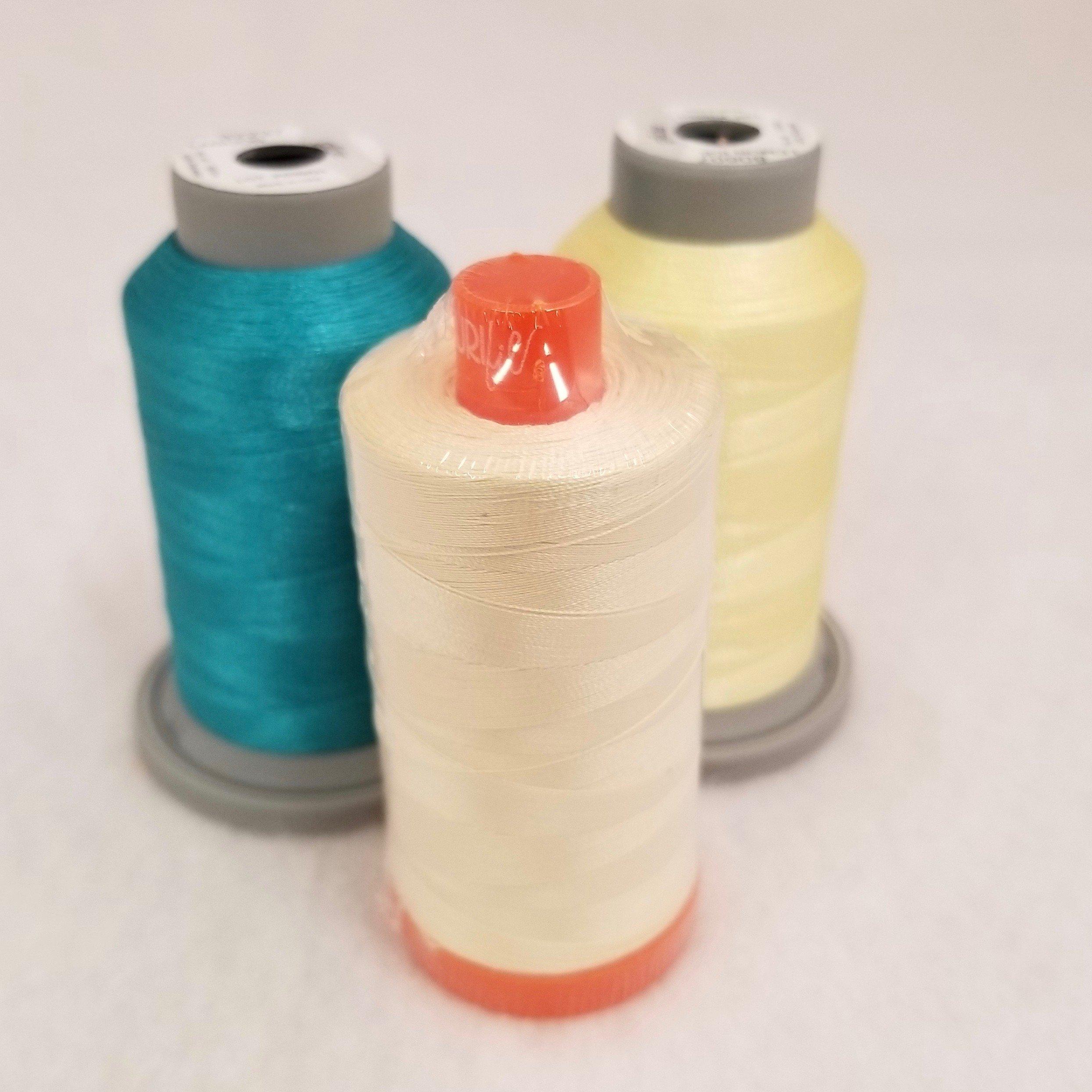 Build A Quilt Aurora Blue Coordinating Thread Collection