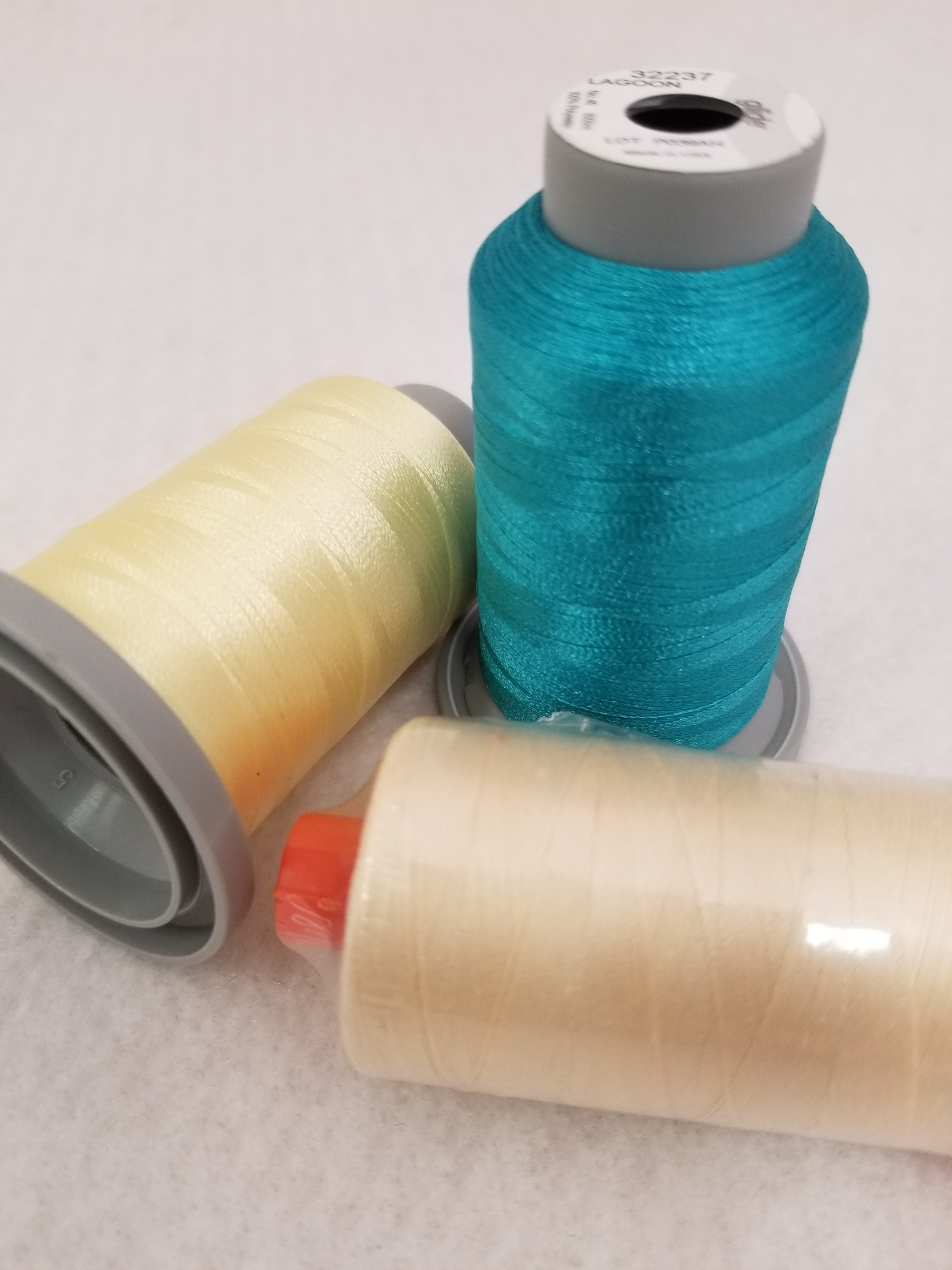 Build A Quilt Aurora Blue Coordinating Thread Collection